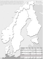 Pohjoismaan sähköverkko yhdessä kuvassa